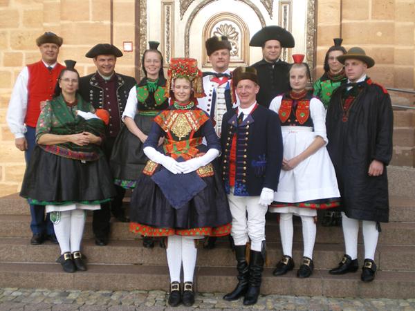 Coutume Allemande allemagne – groupe de danse traditionnelle de la schwalm